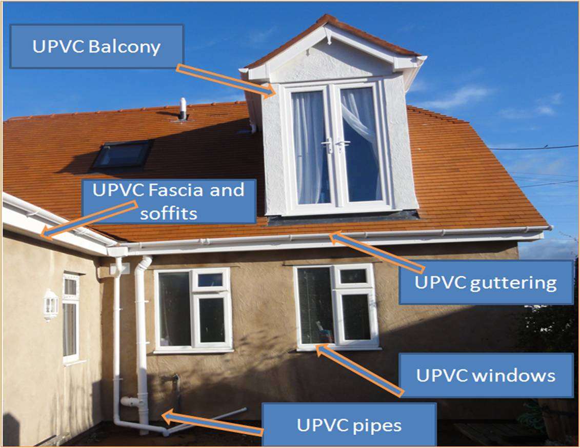 Example of some UPVC work installed by Kelvin Griffiths and Son