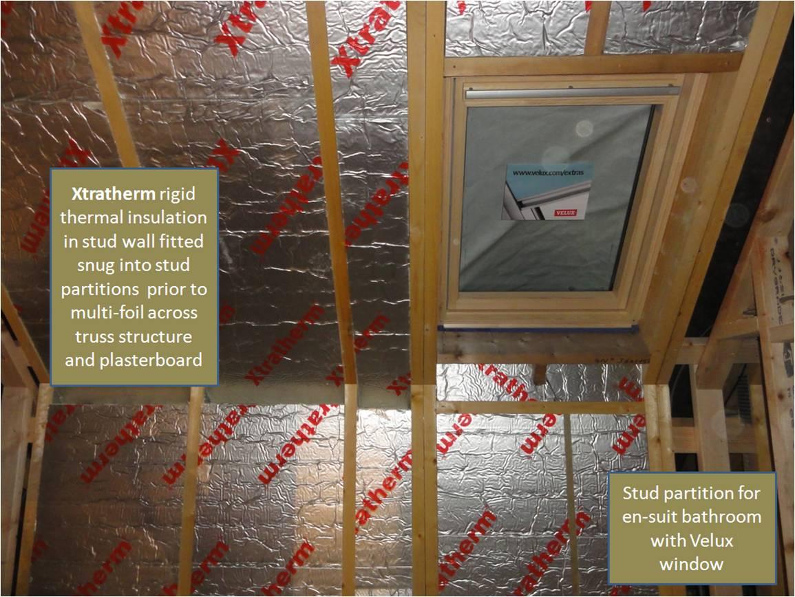 Velux windows for High insulation windows