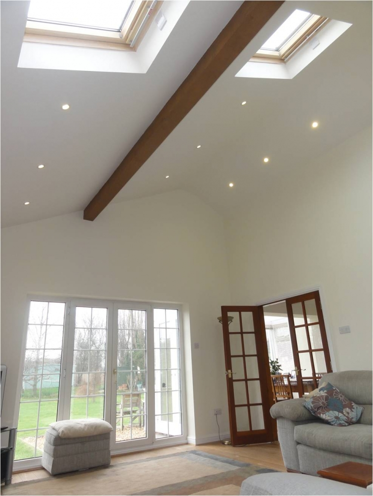 cathedral ceiling recessed lighting ideas - VELUX Windows