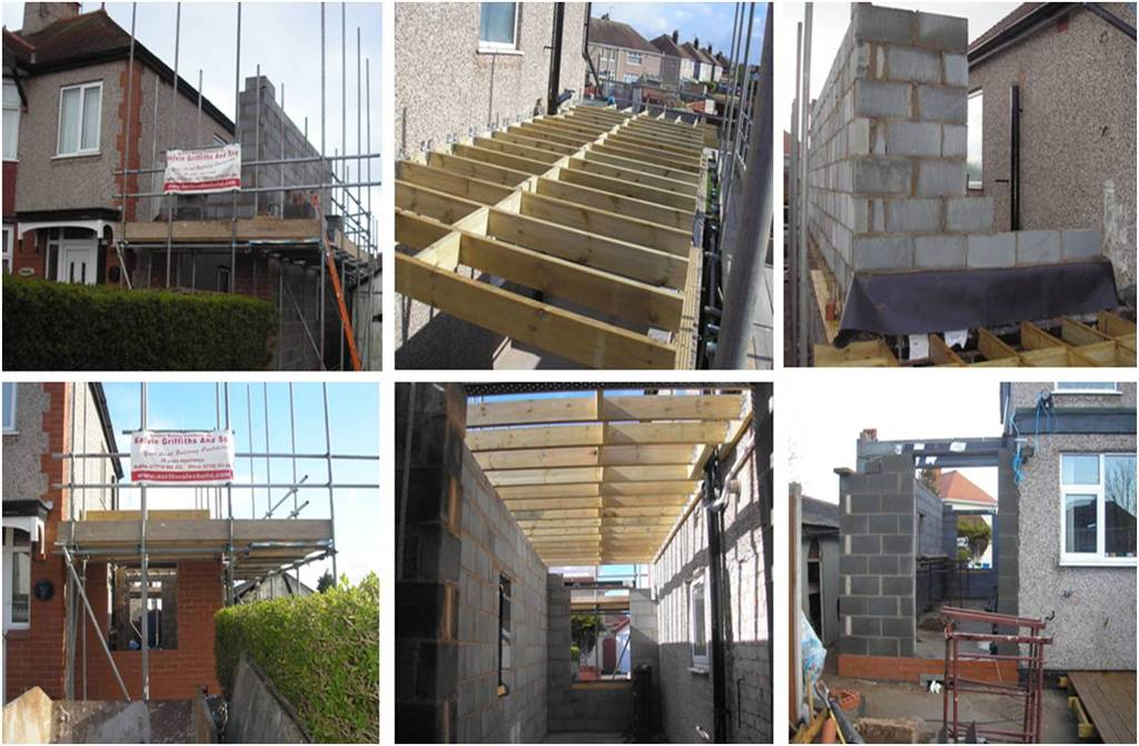 Extension Building North Wales Build Ltd