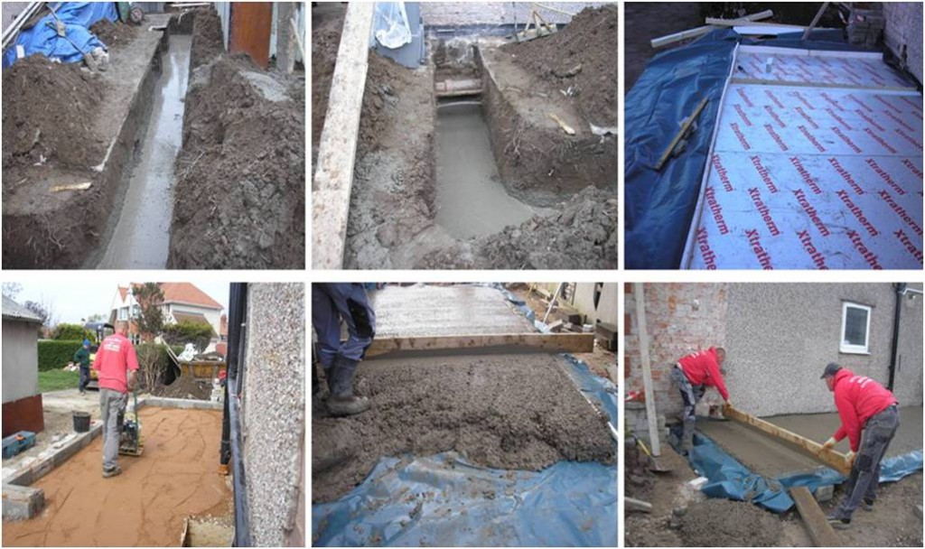 Extension Foundations North Wales Build Ltd