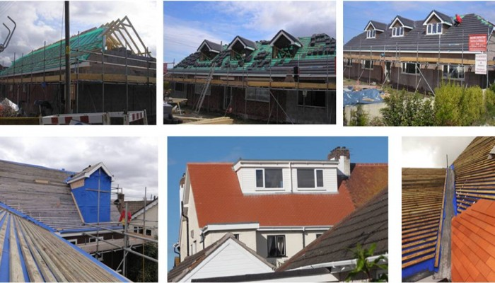 Small sample of our North Wales Roofing work