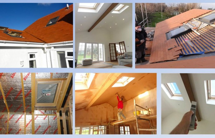 North Wales Velux Windows installed by Kelvin Griffiths and Son