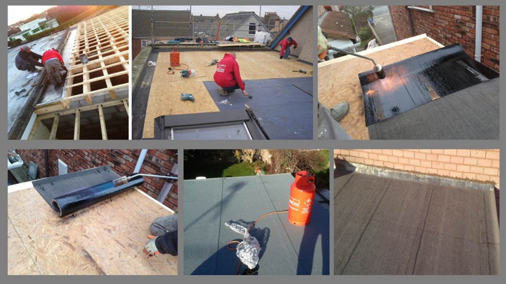 Flat roofing north wales builders kelplaster for Contractors needed to build a house