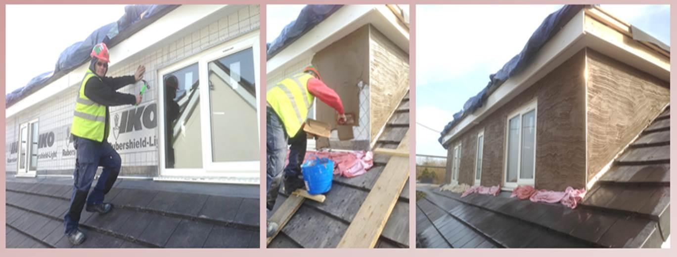 Dormer Bungalow Progress North Wales Builders