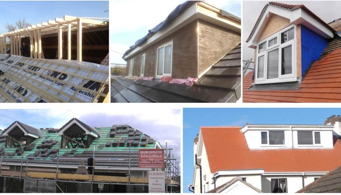 North wales roofing north wales builders kelplast for Bungalow addition cost