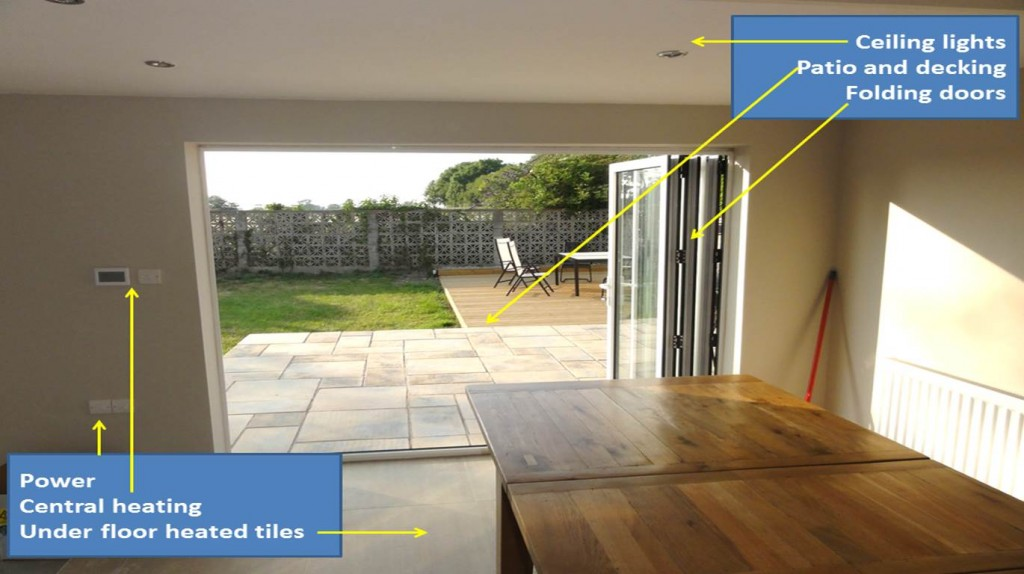 Merge home and garden by design with Kelvin Griffiths and Son your North Wales builders