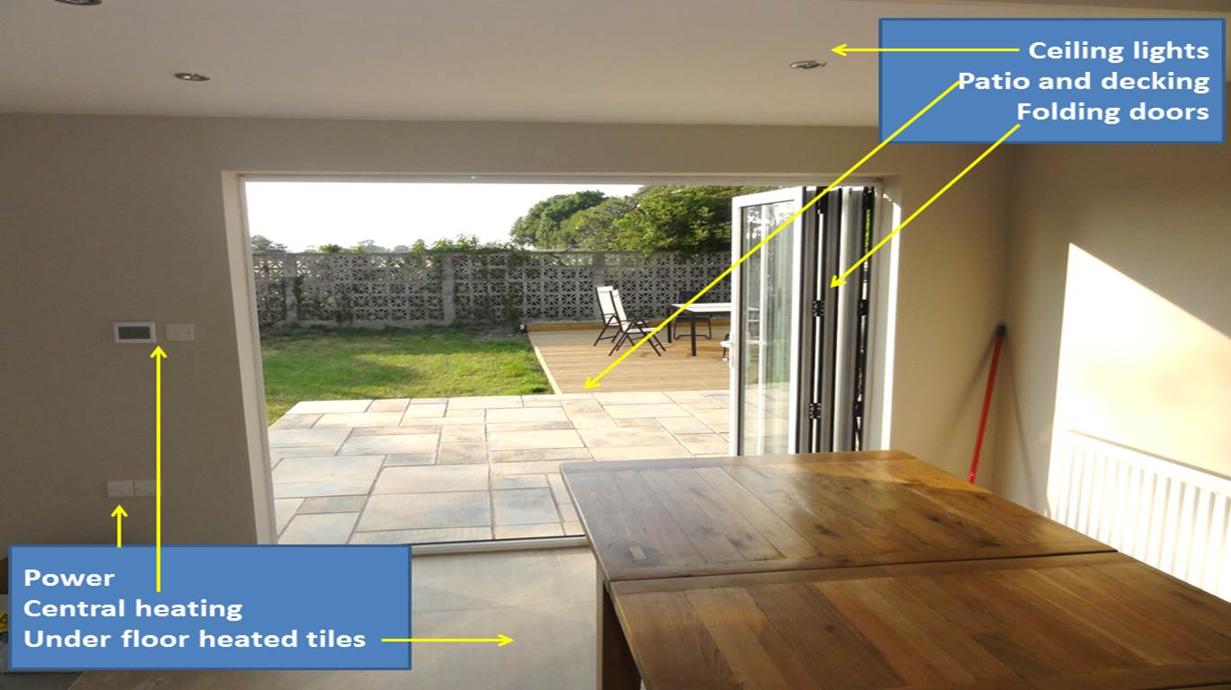 Home Builders North Wales  Merge home and garden by design with Kelvin Griffiths and Son your North Wales builders