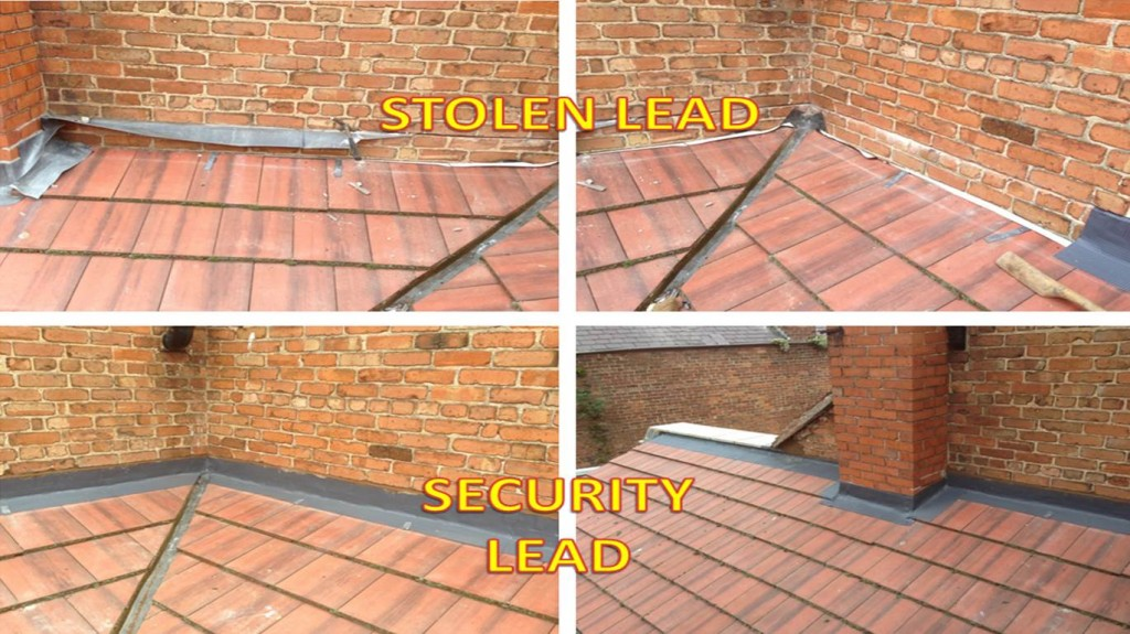 Stop Lead Theft with modern construction materials