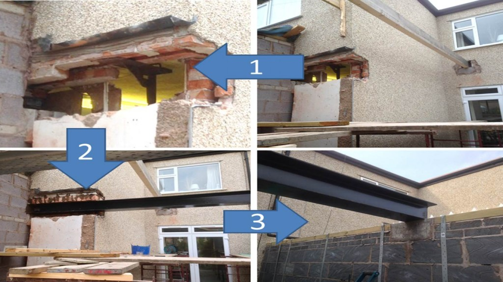 """Joists installed as part of Rhyl Nome Extension"""