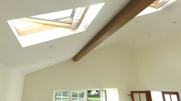 Vaulted Ceiling and Velux Windows