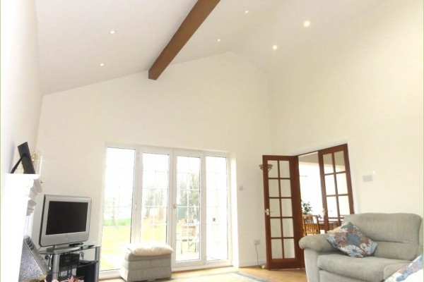 Vaulted Ceiling North Wales Builders
