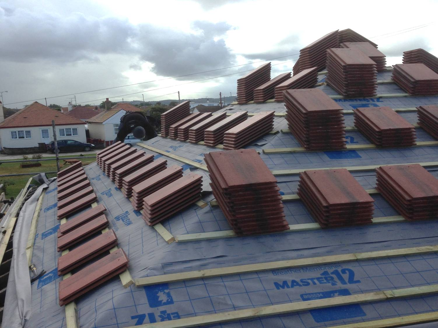 Re-Tiled Roof